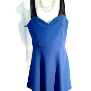 Forever 21  Royal blue woman dress